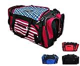 PROWIN1 Martial Arts Mesh Gear Bag Taekwondo, Karate, MMA, Boxing Equipment Bag - 22'/24'/27' L (Black, 27' L)
