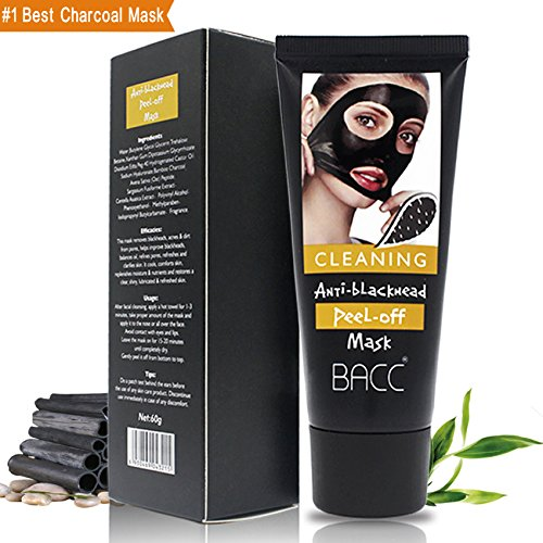 WillMall Charcoal Blackhead Purifying Peel-Off Mask Remover Black Head Deep Cleaning Dead Sea Mud Mask for Facial Treatment (Men Use)
