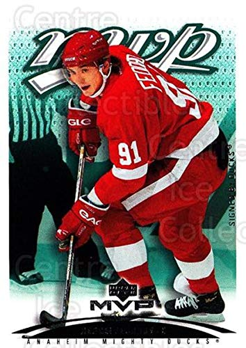((CI) Sergei Fedorov Hockey Card 2003-04 Upper Deck MVP (base) 142 Sergei Fedorov)