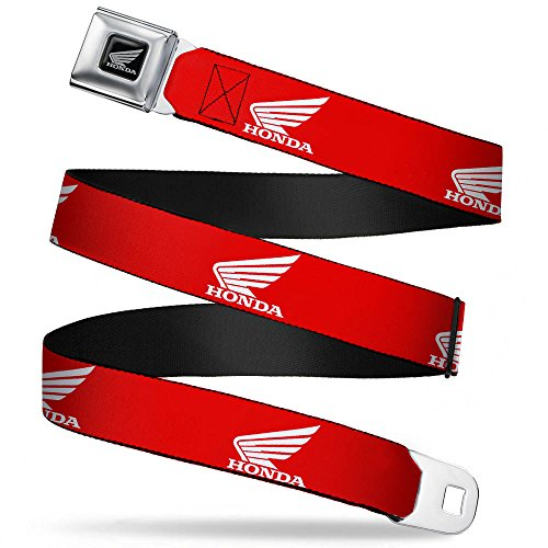Belt - HONDA Motorcycle Logo Red/White - 1.5