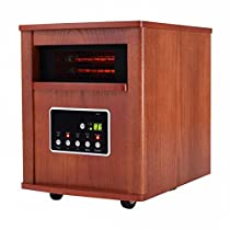 1500 w Electric Portable Quartz Tube Space Heater - By Choice Products