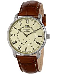 Breytenbach Men's BB77302BE Swiss Ronda Classic Small Second Watch