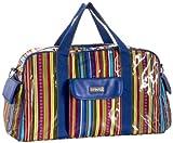 Cheap Hadaki Cool Duffel Bag,Cobalt Stripes,one size