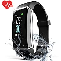 ZyMaSh Fitness Tracker – Color Smart Watch – Heart Rate...