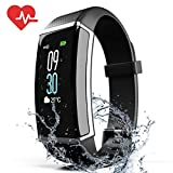 ZyMaSh Fitness Tracker - Color Smart Watch - Heart Rate Fitness Tracker - IP68 Waterproof ‎Fitness Watch - Fit Watch Tracker Pedometer for Men, Women, Kids - Activity Tracker