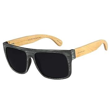 303efef74 Óculos de Sol Masculino Chilli Beans Haste de Bambu Preto Polarizado 1747  OC.CL.