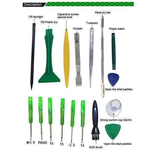 lovely 17pcs Universal Repair Tool Kit Mobile Phone iPad