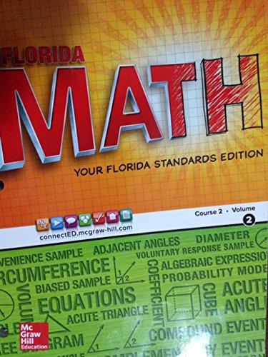 Florida Math Course 2 Volume 2