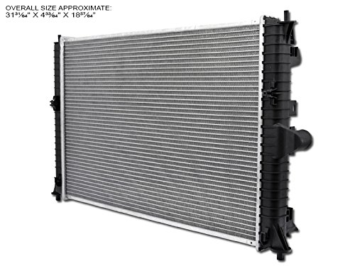- HS Power Aluminum Radiator For 09-10 Mazda Mazda6 2.5L L4 4Cyl/3.7L V6 6Cyl Engine At/Mt