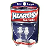 HEAROS High Fidelity Musician Ear Plugs Ultimate In Comfortable And Hearing Protection Professional Musicians Earplugs Noise Cancelling Earplugs For Concerts Motorcyclists Loud Events - 2 Pair