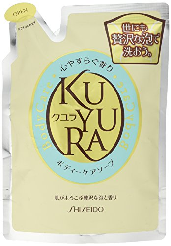 Body Wash Refill (Shiseido KUYURA | Body Wash | Relax Fragrance Refill 400ml)