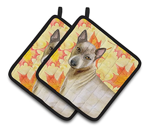 Caroline's Treasures BB9941PTHD Thai Ridgeback Fall Decorated Pot Holder, 7.5H x 7.5W, Multicolor by Caroline's Treasures