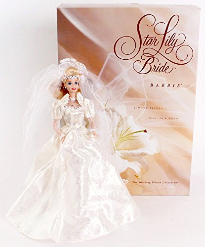 Star Lily Bride BARBIE Porcelain Doll Limited Edition (1994)