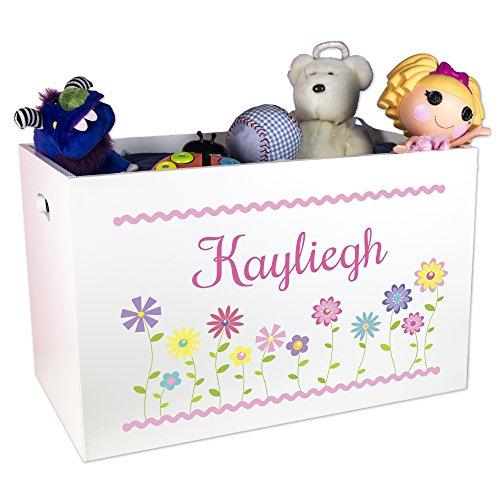 Girl's Personalized Toy Box by MyBambino