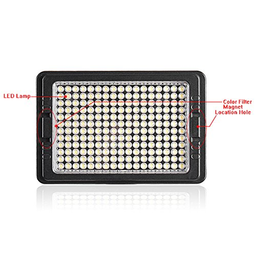 Bestlight led 204 multi functional led video light 180 for 180 degrees salon dubai