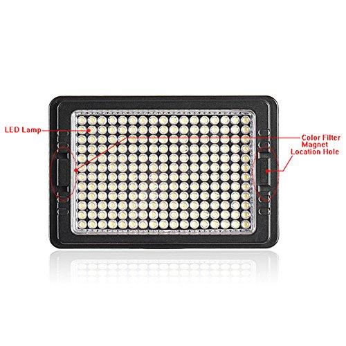 Bestlight led 204 multi functional led video light 180 for 180 degrees salon dubai