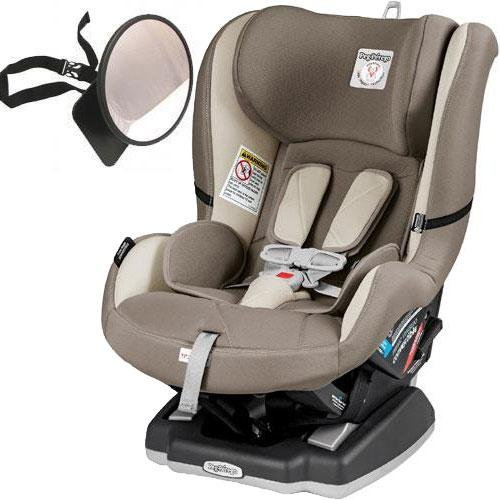 Peg Perego – Primo Viaggio Convertible Car Seat with Back Seat Mirror – Panama