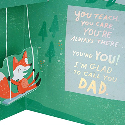 Hallmark Father's Day Greeting Card from Child (Glad to Call You Dad) Photo #6