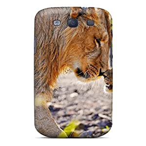 Awesome Case Cover/galaxy S3 Defender Case Cover(lion Cub Rubbing Noses)