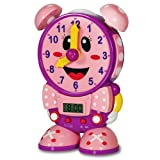 Baby : The Learning Journey Telly The Teaching Time Clock, Pink