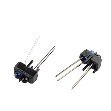 SODIAL Neue 10er TCRT5000L TCRT5000 reflektierenden optischen Sensor Infrarot-950mm 5V 3A R