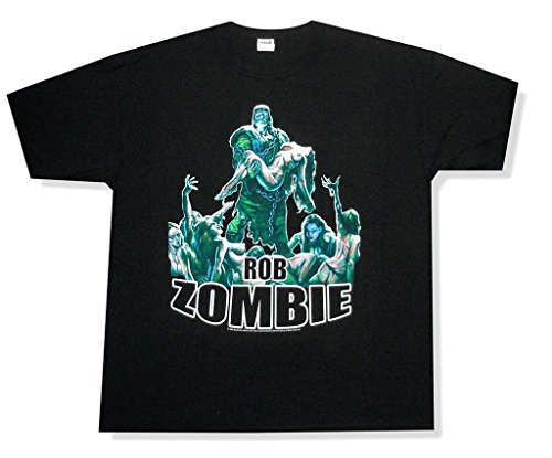 (Rob Zombie Frankenstein Corpse Fcking Loving SOB Black T Shirt)