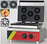 Boshi Electronic Instrument 110V/220V NP-3 Industrial Blossom Donut Machine Flower Donuts Baker CE Certification