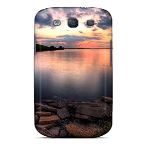 New Style Case Cover SvwFurH3067NmVsO Last Minute Sunset Compatible With Galaxy S3 Protection Case