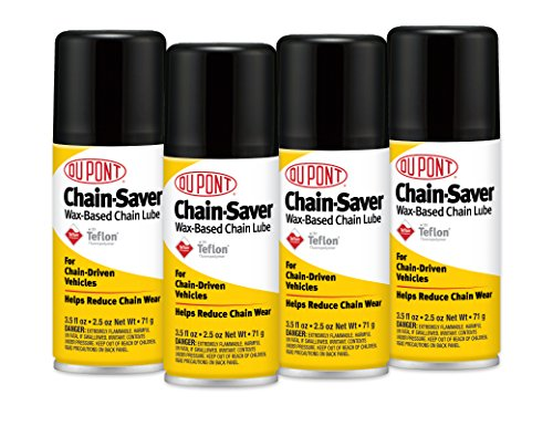 (DuPont Chain Saver Wax-Based Chain Lube 3.5OZ 4 Pack)