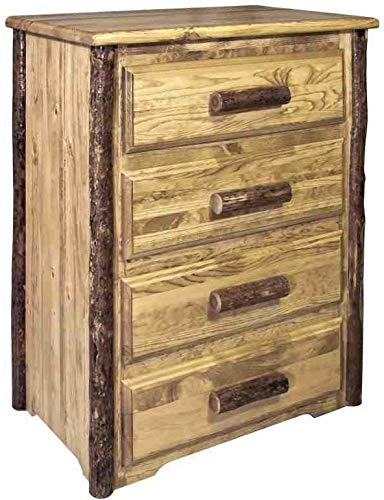 Montana Woodworks MWGC4D Glacier Country Collection 4-Drawer Chest of Drawers