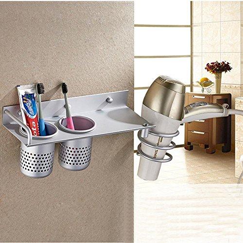 Durable Service LeegoalTM Spiral Hair Blow Dryer Holder - Bathroom cup holders wall mount for bathroom decor ideas