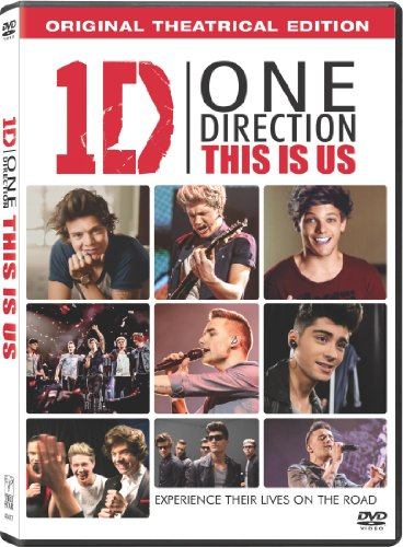 DVD : One Direction - One Direction: This Is Us (Ultraviolet Digital Copy, AC-3, Widescreen, , Dolby)