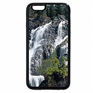 iPhone 6S / iPhone 6 Case (Black) Tangle Falls, Rocky Mountains, Jasper, Alberta, Canada