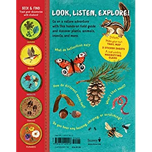 Backpack Explorer: On the Nature Trail: What Will You Find? Hardcover – November 27, 2018