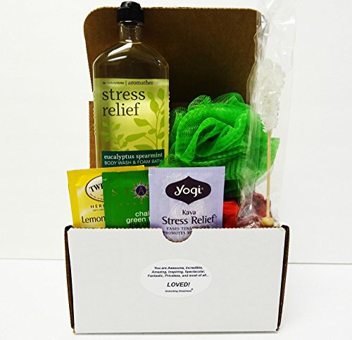 Unlocking Greatness You Are Loved Bath & Body Works Gift Baskets: (Stress Relief)