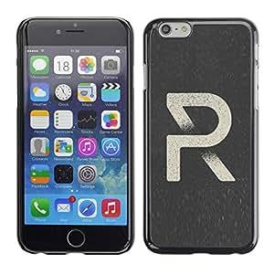 PC/Aluminum Funda Carcasa protectora para Apple Iphone 6 R Art Retro Poster Style / JUSTGO PHONE PROTECTOR