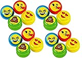 J&J's ToyScape 36Pcs Mini Emoticon Yo Yo's (Size: 1.25'') Kids Party Favor Pack, Birthday Party Favors, Prizes, Giveaways, Goody Bag Fillers