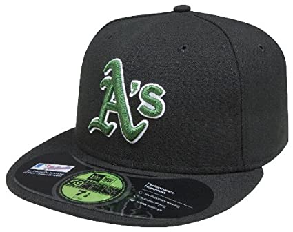 low priced 0f444 94da8 MLB Oakland Athletics Authentic On Field Alternate 59FIFTY Cap, 6 7 8