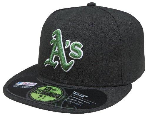 New Era MLB Oakland Athletics Authentic On Field Alternate 59FIFTY Cap, 6 7/8