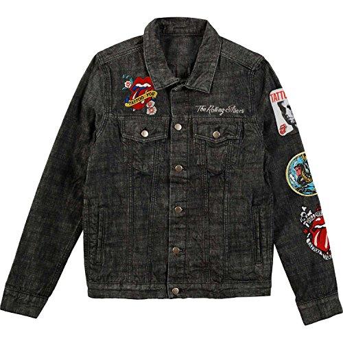 Rolling Stones Men's Dragon Denim Jacket Denim Jacket Large Denim