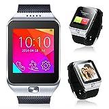Indigi® 2-in-1 Interconvertible GSM + Bluetooth Smart Watch And Phone UNLOCKED!