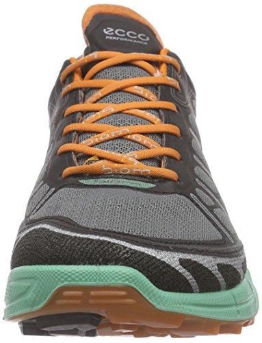 EccoECCO BIOM TRAIL FL - Zapatillas De Deporte Para Exterior Mujer Varios Colores (BLACK/GRANITE GREEN/ORANGE59481)
