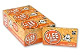 Glee Gum Tangerine, 16-Piece Boxes (Pack of 12)