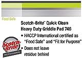 Scotch-Brite Quick Clean Heavy Duty Griddle Pad