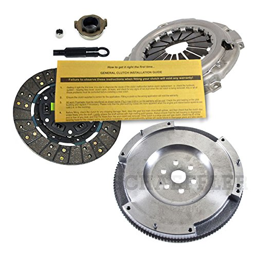 EFT PREMIUM CLUTCH KIT & FLYWHEEL for 1998-2003 FORD ESCORT ZX2 2.0L DOHC 4CYL