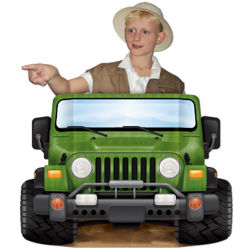 (Beistle 57973 Jungle Safari Photo Prop, 37