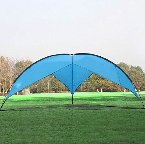 JIE Im Freien faltende Sun Shade-Zelte Guo-im Freien, Glasfaser-Türme stark und dauerhaft, Familien-Markise 5-8