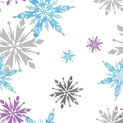 - Disney Frozen Snowflake Wallpaper by Graham & Brown