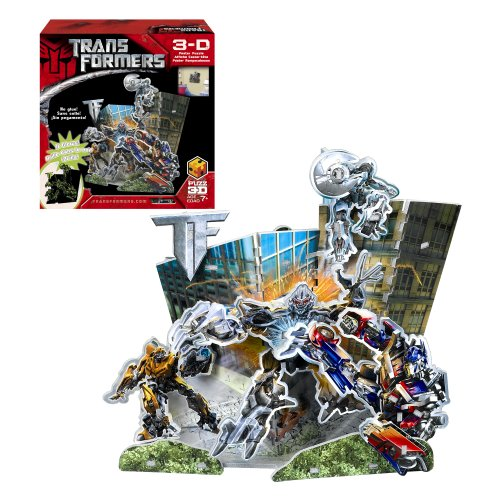 Puzz 3D Transformers 3D Poster Puzzle