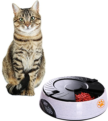 Automatic Pet Feeder with Voice Recording and...
